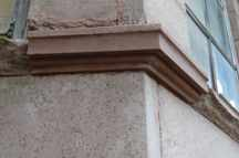A sandstone sill repair performed using Jahn M70 Sandstone