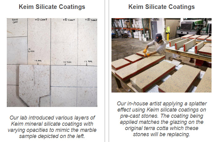 keim silicate coatings